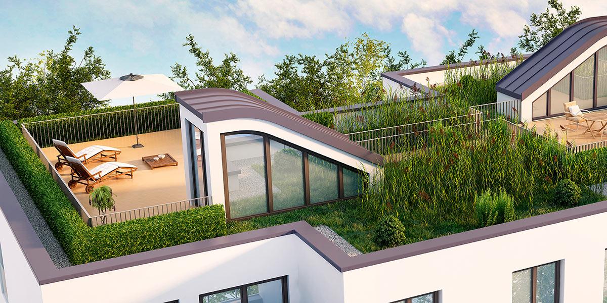 Bevorzugt Flachdach - Terrassen, Garagen und Carports - Toepfer Bedachungen BX53